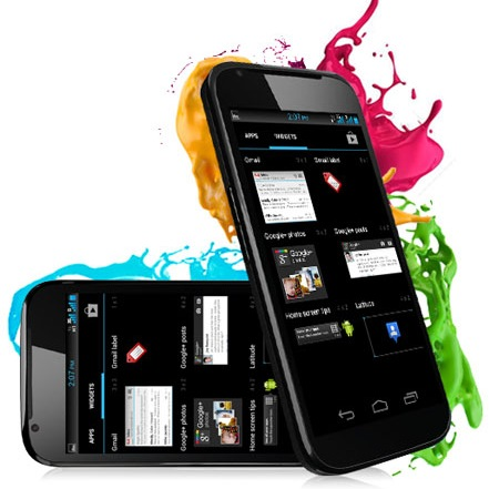 Micromax Superfone Canvas A100 dual-sim android smartphone