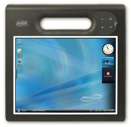 Motion Computing F5t Rugged Tablet PC with Ivy Bridge front
