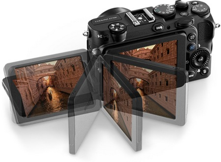 Nikon CoolPix P7700 Prosumer Camera swivel lcd