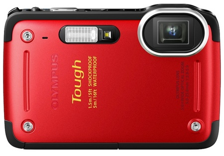Olympus STYLUS TG-625 Tough Rugged Camera red