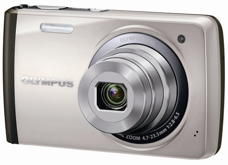 Olympus STYLUS VH-410 Compact Touchscreen Digital Camera silver
