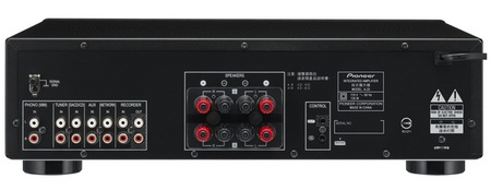 Pioneer Elite A-20 Integrated 2-channel Amplifier inputs