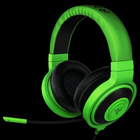 Razer Kraken and Kraken Pro Gaming Headsets angle