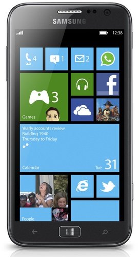 Samsung ATIV S - the First Windows Phone 8 Smartphone FRONT