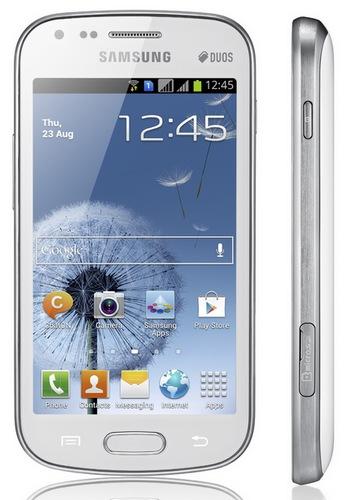 Samsung GALAXY S DUOS Dual-SIM Smartphone side