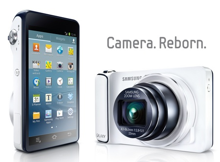 Samsung Galaxy Camera 21x Long Zoom Camera running Android 4.1 Jelly Bean