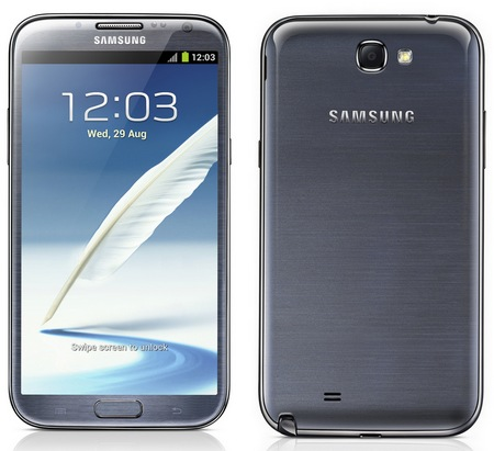 Samsung Galaxy Note II gets 5.5-inch Super AMOLED, Quad-core CPU, Android 4.1 grey 1