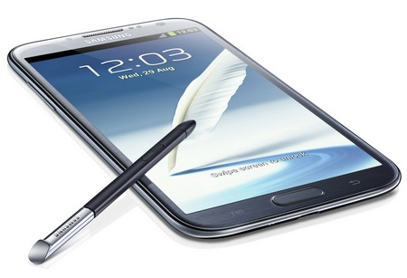 Samsung Galaxy Note II gets 5.5-inch Super AMOLED, Quad-core CPU, Android 4.1 grey
