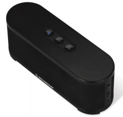 Scosche boomSTREAM Portable Bluetooth Wireless Speaker angle