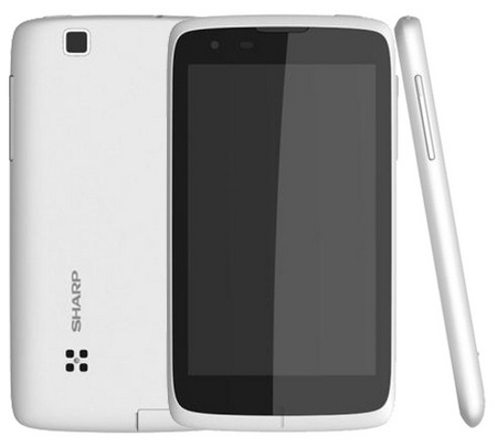 Sharp SH530U Android Smartphone gets a 5-inch Display white