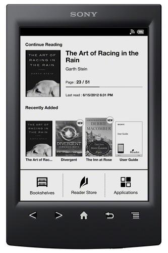Sony Reader PRS-T2 e-book Reader black