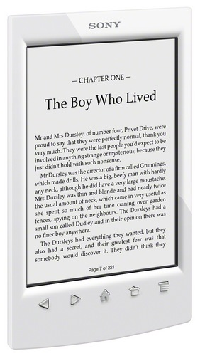 Sony Reader PRS-T2 e-book Reader white