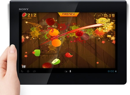Sony Xperia Tablet S with Tegra 3 gaming