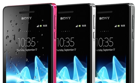 Sony Xperia V Waterproof Smartphone COLORS