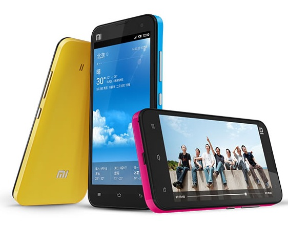 Xiaomi Phone 2 gets Quad-core CPU, 2GB RAM and 4.3-inch IPS Screen colors