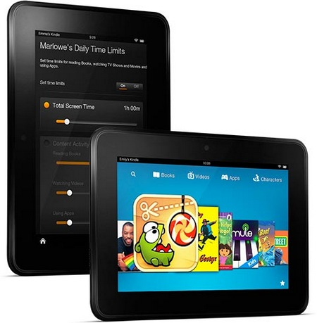 Amazon Kindle Fire HD 7-inch with 720p Display and Dual-band WiFi kindle freetime