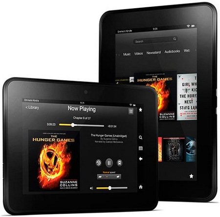 Amazon Kindle Fire HD 7-inch with 720p Display and Dual-band WiFi media