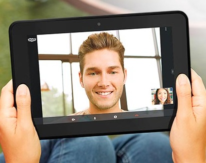 Amazon Kindle Fire HD 8.9 and Fire HD 8.9 4G Tablets skype