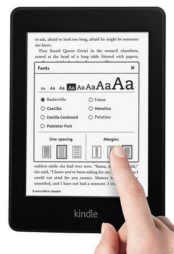 Amazon Kindle Paperwhite E-book Reader front