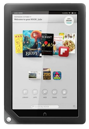 Barnes & Noble NOOK HD+ Lightest 9-inch Full HD Tablet front