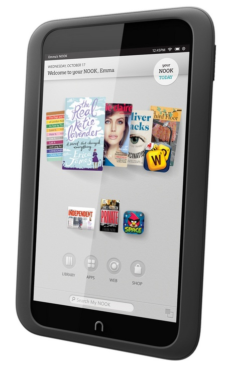 Barnes & Noble NOOK HD Highest Resolution 7-inch Tablet smoke 1