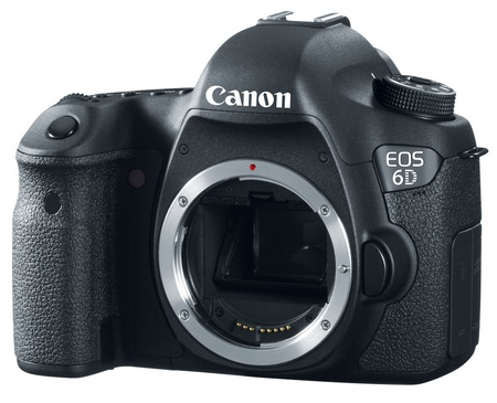 Canon EOS 6D Mid-range Full-frame DSLR Camera with WiFi and GPS no lens 1