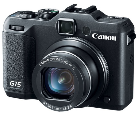 Canon PowerShot G15 Camera gets f1.8-2.8 Lens