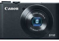 Canon PowerShot S110 Digital Camera with WiFi and Touchscreen black