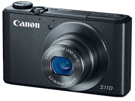 Canon PowerShot S110 Digital Camera with WiFi and Touchscreen