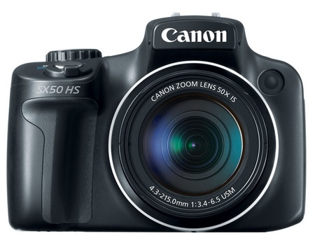 Canon PowerShot SX50 HS 50X Ultra-zoom Digital Camera front