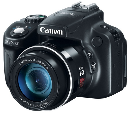 Canon PowerShot SX50 HS 50X Ultra-zoom Digital Camera