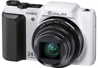 Casio EXILIM EX-H50 24x Zoom Camera white
