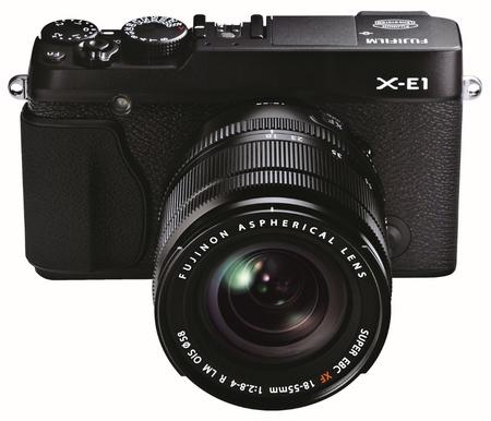 FujiFilm X-E1 Interchangeable Lens Digital Camera back