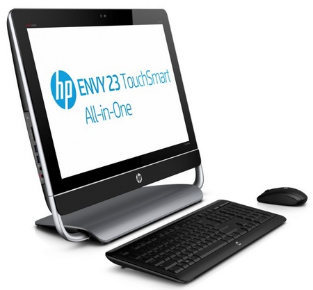 HP ENVY 23 TouchSmart touchscreen all-in-one pc