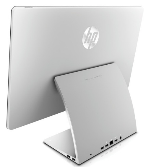 HP SpectreONE All-in-one PC with Wireless Trackpad and Windows 8 back