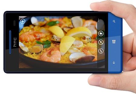 HTC 8S Mid-range Windows Phone 8 Smartphone on hand photo