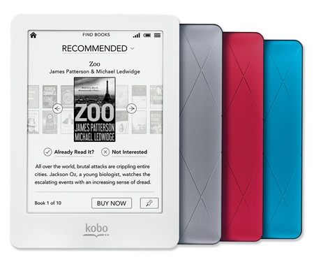 Kobo Glo e-book reader with ComfortLight