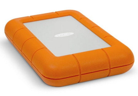 LaCie Rugged USB 3.0 Thunderbolt Series Portable Hard Drive