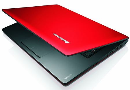 Lenovo IdeaPad S300, S400 and S405 Ultraportable Notebooks red