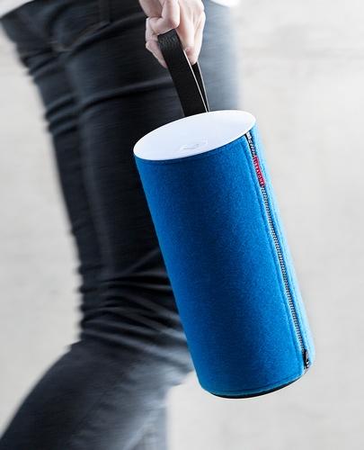 Libratone Zipp Portable AirPlay Speaker leather handle