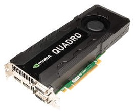 NVIDIA Quadro K5000 Graphics Card for Mac Pro 1