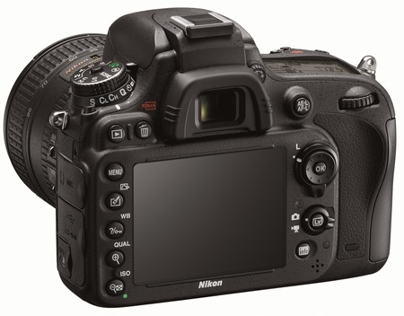 Nikon D600 Full-Frame DSLR Camera back