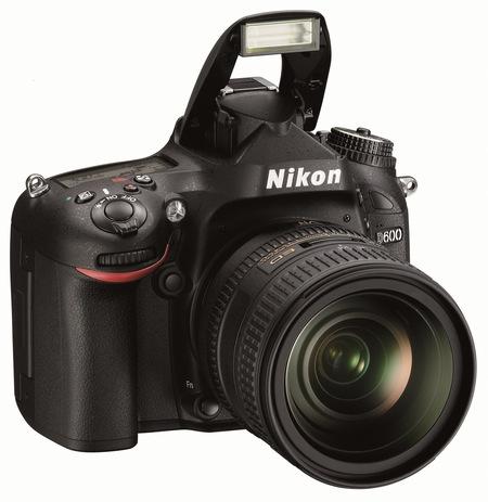 Nikon D600 Full-Frame DSLR Camera flash