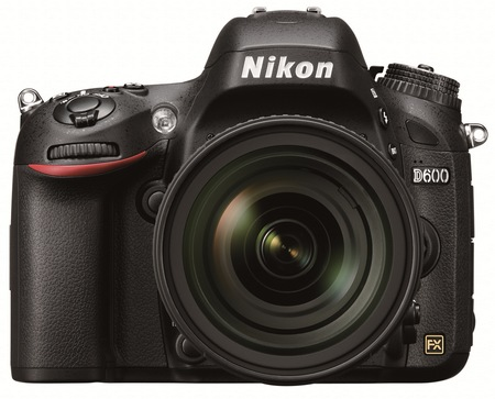 Nikon D600 Full-Frame DSLR Camera front