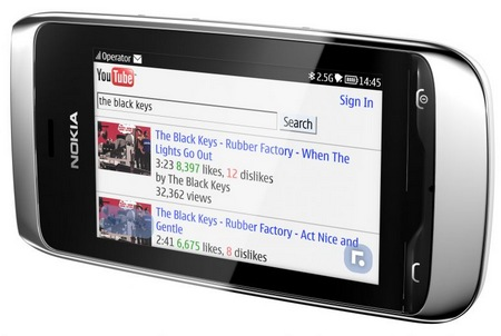 Nokia Asha 309 S40 Touchscreen Phone browser
