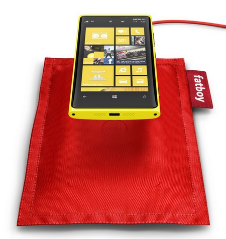 Nokia Fatboy Wireless Charging Pillow 1