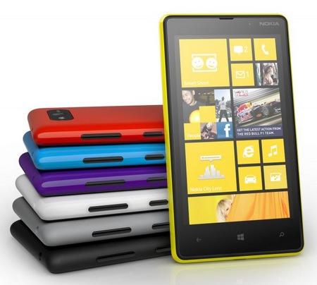 Nokia Lumia 820 Windows Phone 8 Smartphone colors