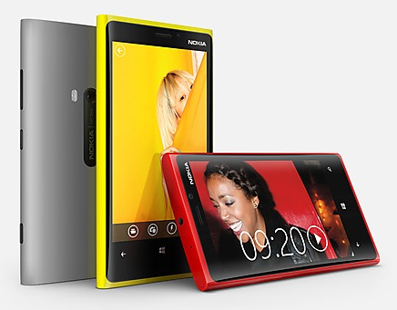 Nokia Lumia 920 Flagship Windows Phone 8 Smartphone colors 1