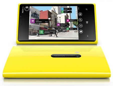 Nokia Lumia 920 Flagship Windows Phone 8 Smartphone front back