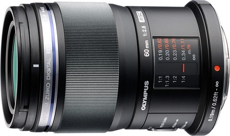 Olympus M.ZUIKO DIGITAL ED 60mm f2.8 Dust-splash-proof Macro lens
